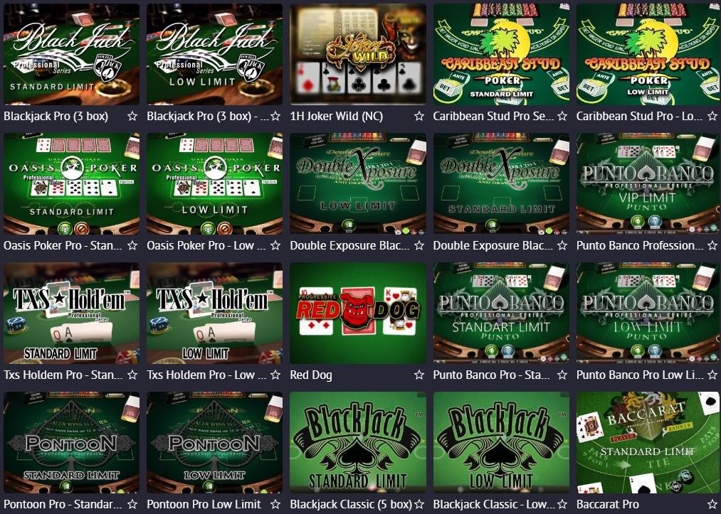 Карточный игры в казино онлайн казино за биткоины